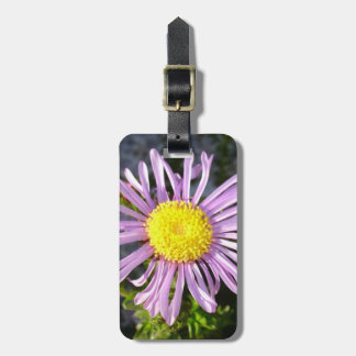 Magenta Aster - A Star of Love and Fidelity Luggage Tag