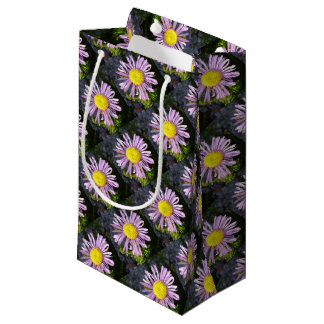 Magenta Aster - A Star of Love and Fidelity Small Gift Bag