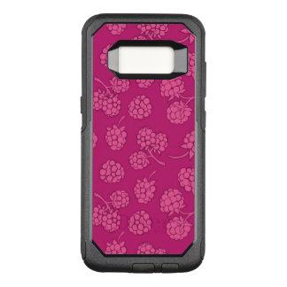 Magenta Berry Pattern OtterBox Commuter Samsung Galaxy S8 Case