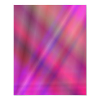 Magenta colorful abstract 11.5 cm x 14 cm flyer