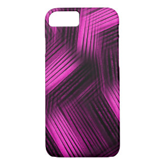 Magenta Contemporary Abstract iPhone 7 Case