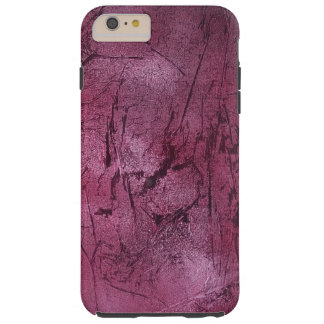 magenta crackle phone cover