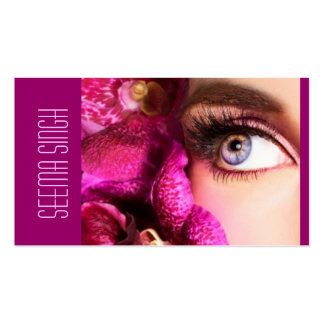 Magenta Eyes flowers Pack Of Standard Business Cards