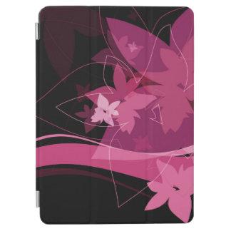 Magenta Floral Pattern iPad Air Cover
