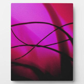 Magenta Grass Dance Photo Plaques