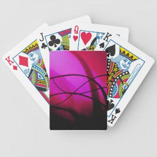 Magenta Grass Dance Poker Deck