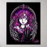 Magenta Guardian Angel Posters