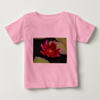 Magenta Lotus Waterlily Baby T-Shirt