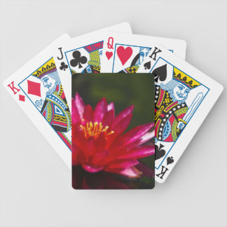 Magenta Lotus Waterlily Playing Cards