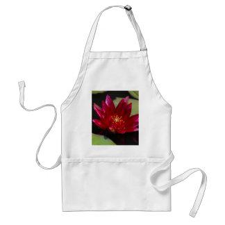 Magenta Lotus Waterlily Standard Apron