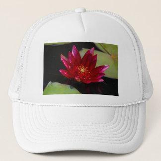 Magenta Lotus Waterlily Trucker Hat