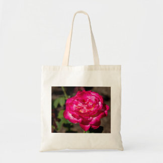 Magenta Pink and White Rose Bags