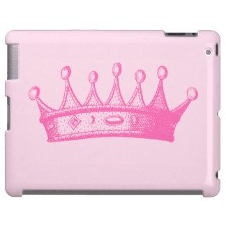 Magenta Princess Crown on Pink Background