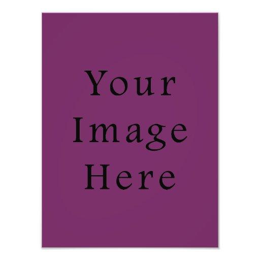Magenta Purple Color Trend Blank Template Art Photo