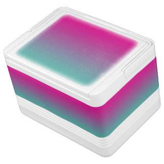 Magenta Purple & Teal Ombre Cooler