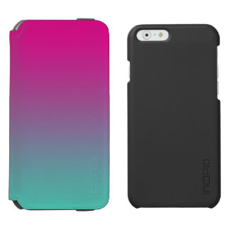 Magenta Purple & Teal Ombre Incipio Watson™ iPhone 6 Wallet Case