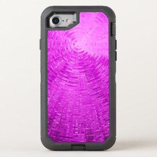 Magenta Ripples OtterBox Defender iPhone 7 Case
