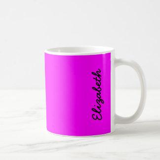 Magenta Solid Color Coffee Mug