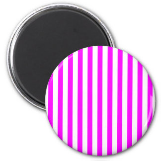 Magenta Stripes Magnet