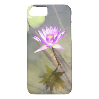 Magenta Water Lily iPhone 8/7 Case