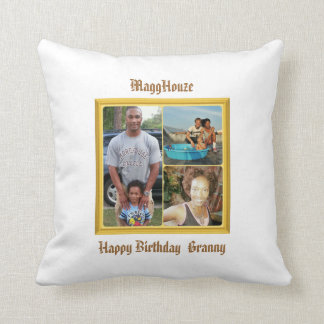 MaggHouze Birthday Pillow
