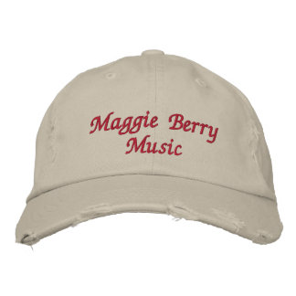 Maggie Berry Music Embroidered Hats