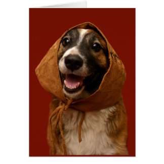 Maggie in a Bonnet - greeting card (blank inside)