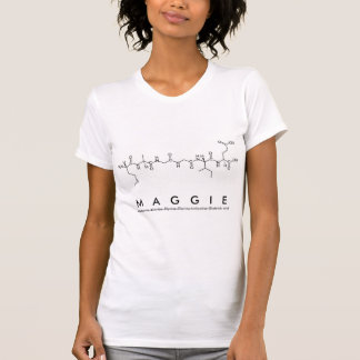 Maggie peptide name shirt