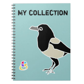 Maggie the magpie/My Collection Notebook