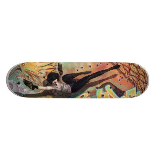 Maggie Will Kill You! Custom Skateboard