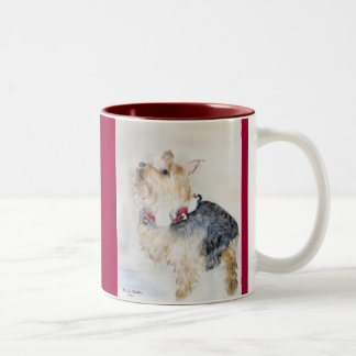 Maggie...with...Jingle Bells!...Mug. Two-Tone Coffee Mug