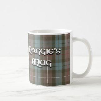 Maggie's Mug in tartan