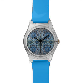 Maghrebi mosaic watch