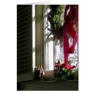 Magi in Window Sill Card