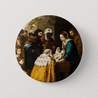 Magi Present Jesus Gifts 6 Cm Round Badge