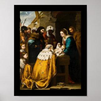 Magi Present Jesus Gifts Poster