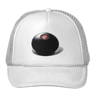 """Magic 8 Ball says, """"Do you really want to know?"""" Hat"""