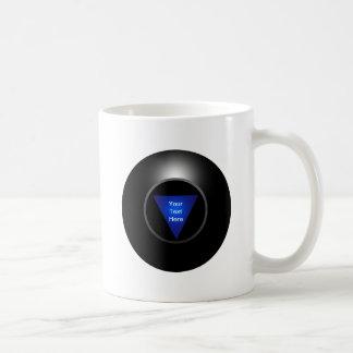 Magic 8 Ball - Your Text Coffee Mug