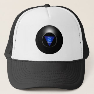 Magic 8 Ball - Your Text Trucker Hat