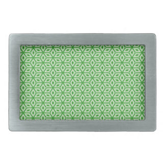 Magic Abstracts Green Belt Buckle