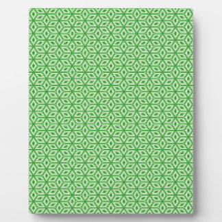 Magic Abstracts Green Plaque