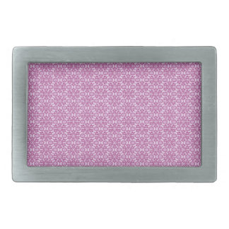 Magic Abstracts Pink and Purple Belt Buckles