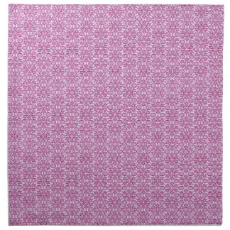 Magic Abstracts Pink and Purple Napkin