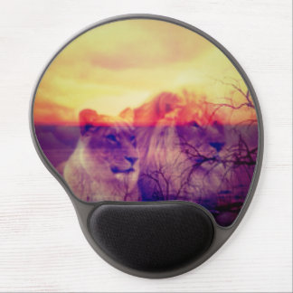Magic Animals LIONS Gel Mouse Pad