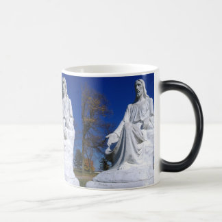 Magic Appearing Christ Magic Morphing Mug
