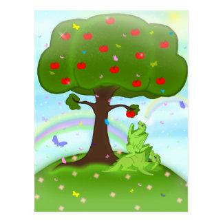 Magic appel postcard