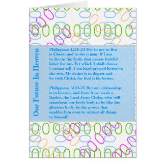 MAGIC ART: go EDIT, choose DARK BACKGROUND color Greeting Card