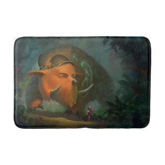 Magic Bear bath mat