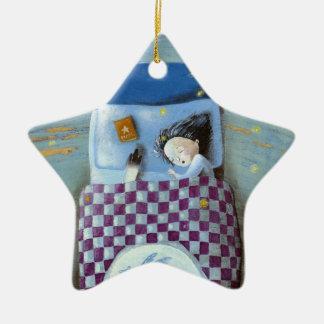 Magic Bed Ceramic Ornament