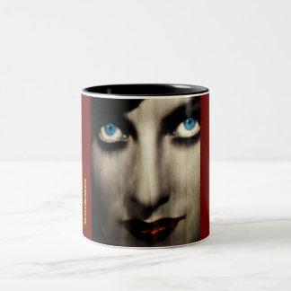 Magic blue eyes Two-Tone mug